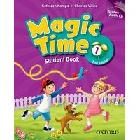 Magic Time 1 (2/E) Student Book and Audio CD Pack