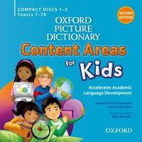 Oxford Picture Dictionary Content Areas for Kids (2/E) Audio CDs (4)