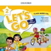 Let's Go Fifth edition Level 2 Class Audio CD (2)