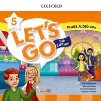 Let's Go Fifth edition Level 5 Class Audio CD (2)