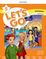 Let's Go Fifth edition Level 5 Workbook with Online Practice