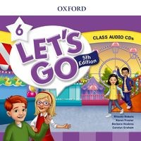 Let's Go Fifth edition Level 6 Class Audio CD (2)