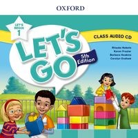 Let's Go Fifth edition Let's Begin 1 Class Audio CD (1)