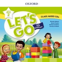 Let's Go Fifth edition Let's Begin 2 Class Audio CD (2)