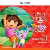 Learn English With Dora The Explorer 1 Class Audio CD (X2)