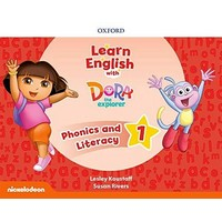 Learn English With Dora The Explorer 1 Phonics & Literature Book