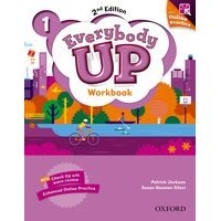 Everybody Up 1 (2/E) Workbook with Online Practice