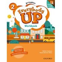 Everybody Up 2 (2/E) Workbook with Online Practice