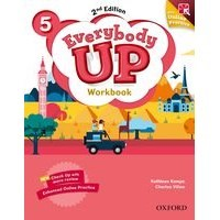 Everybody Up 5 (2/E) Workbook with Online Practice