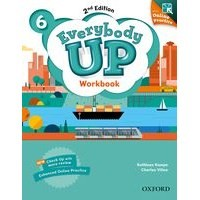 Everybody Up 6 (2/E) Workbook with Online Practice