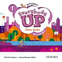 Everybody Up 1 (2/E) Class Audio CDs (2)