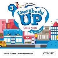 Everybody Up 3 (2/E) Class Audio CDs (2)