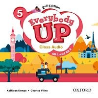 Everybody Up 5 (2/E) Class Audio CDs (2)