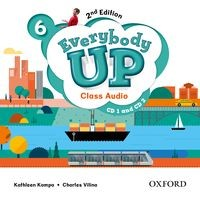 Everybody Up 6 (2/E) Class Audio CDs (2)