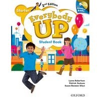 Everybody Up Starter (2/E) Student Book with Audio CD Pack