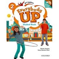 Everybody Up 2 (2/E) Student Book with Audio CD Pack