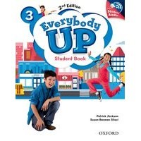 Everybody Up 3 (2/E) Student Book with Audio CD Pack