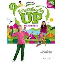 Everybody Up 4 (2/E) Student Book with Audio CD Pack