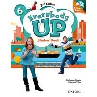 Everybody Up 6 (2/E) Student Book with Audio CD Pack