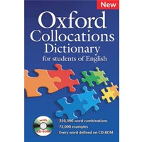 Oxford Collocation Dictionary (2/E)+ROM