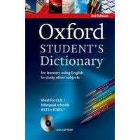 Oxford Student's Dictionary: Third Edition Paperback Pack