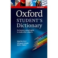 Oxford Student's Dictionary (3/E) Paperback