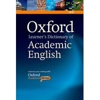 Oxford Learner's Dictionary of Academic English Paperback