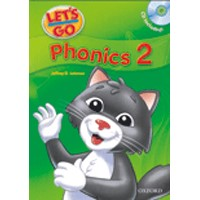 Let's Go Phonics 2 Phonics Book + Audio CD