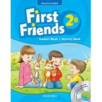 First Friends 2 Student Book/Workbook B + Audio CD Pack