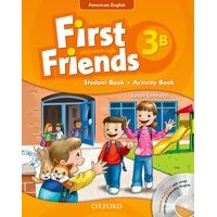 First Friends 3 Student Book/Workbook B + Audio CD Pack