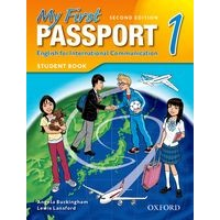 My First Passport 1 (2/E) Student Book Pack