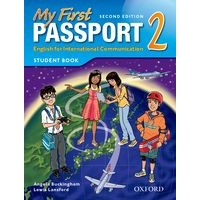 My First Passport 2 (2/E) Student Book Pack