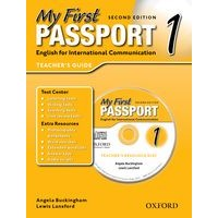 My First Passport 1 (2/E) Teacher's Book + CD-ROM