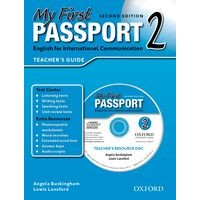 My First Passport 2 (2/E) Teacher's Book + CD-ROM