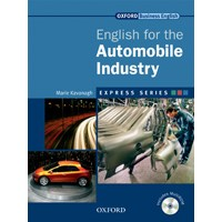 Express Series English for the Automobile Industry Student Book + Multi-ROM