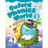 Oxford Phonics World 1 Student Book + Multi-ROM