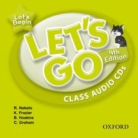 Let's Go Let's Begin (4/E) Class Audio CDs (2)