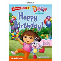 Reading Stars 1 Dora The Explorer Happy Birthday Pack
