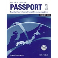 Passport 1 (2/E) Teacher's Book + CD-ROM
