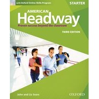 American Headway Starter (3/E) Student Book with Oxford Online Skills