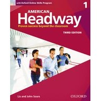 American Headway 1 (3/E) Student Book with Oxford Online Skills