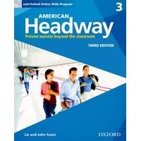 American Headway 3 (3/E) Student Book with Oxford Online Skills