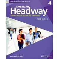 American Headway 4 (3/E) Student Book with Oxford Online Skills