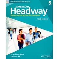 American Headway 5 (3/E) Student Book with Oxford Online Skills