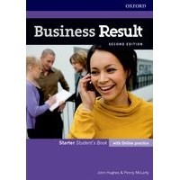 Business Result Starter (2/E) Student's Book with Online Practice Pack