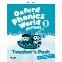 Oxford Phonics World Refresh version Level1 Teacher's Pack
