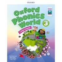 Oxford Phonics World Refresh version Level3 Student Book with APP