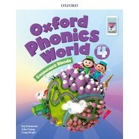 Oxford Phonics World Refresh version Level4 Student Book with APP