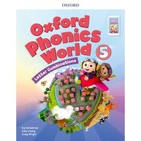 Oxford Phonics World Refresh version Level5 Student Book+APP