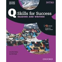 Q: Skills for Success: 2nd Edition - Reading and Writing Intro Student Book with iQ Online